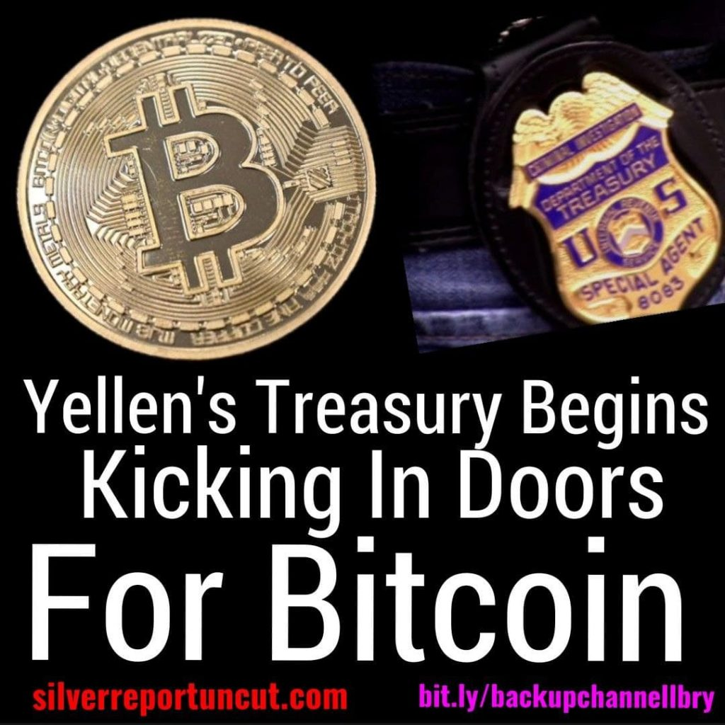Yellen's treasury begins raiding houses over using too much bitcoin crypto6